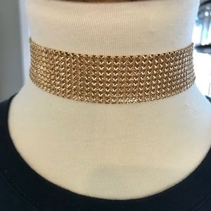 Jewelry - Adjustable Gold Chain Mail Choker